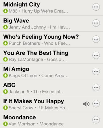 Spotify Spring 2