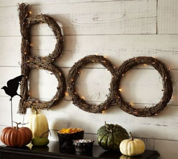 Boo decor