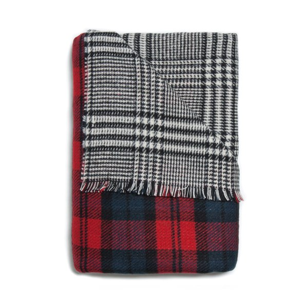 Dual Plaid Scarf