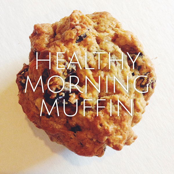 healthy moring muffin