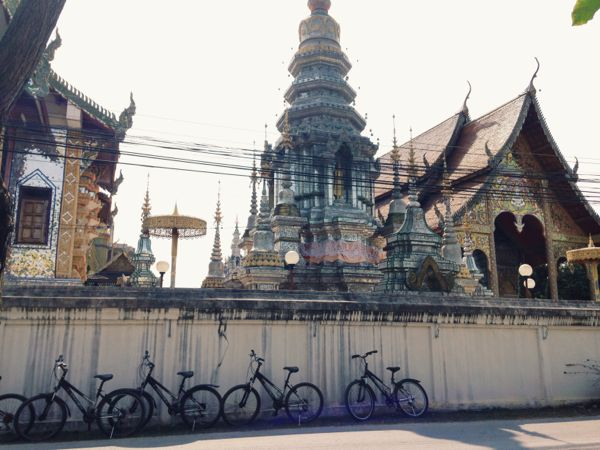 temple via bike