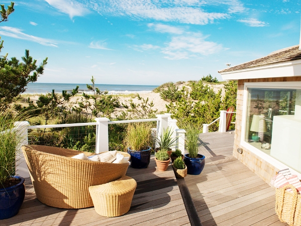 Deck view Amagansett