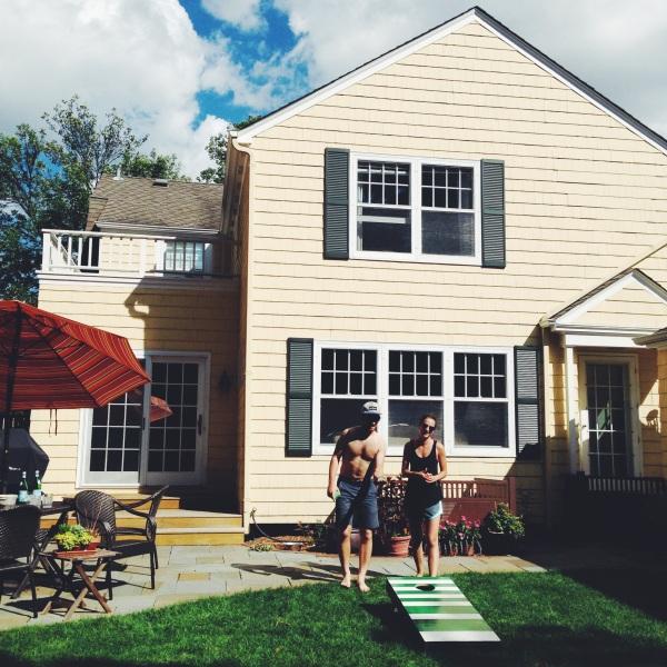Backyard @ home