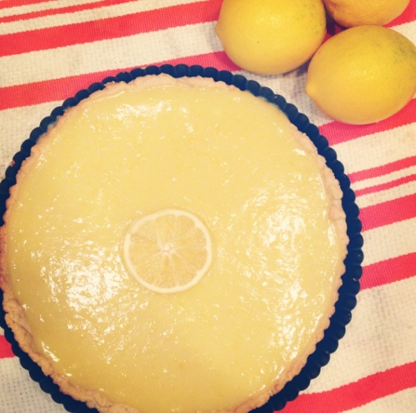lemon (curd) tart