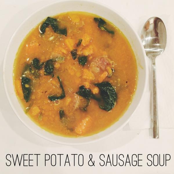 Sweet Potato & Sausage Soup