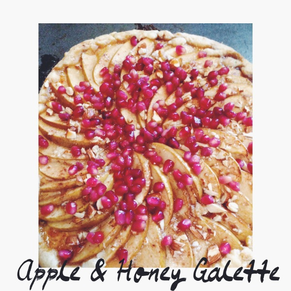 Apple & Honey Galette via Forest Feast