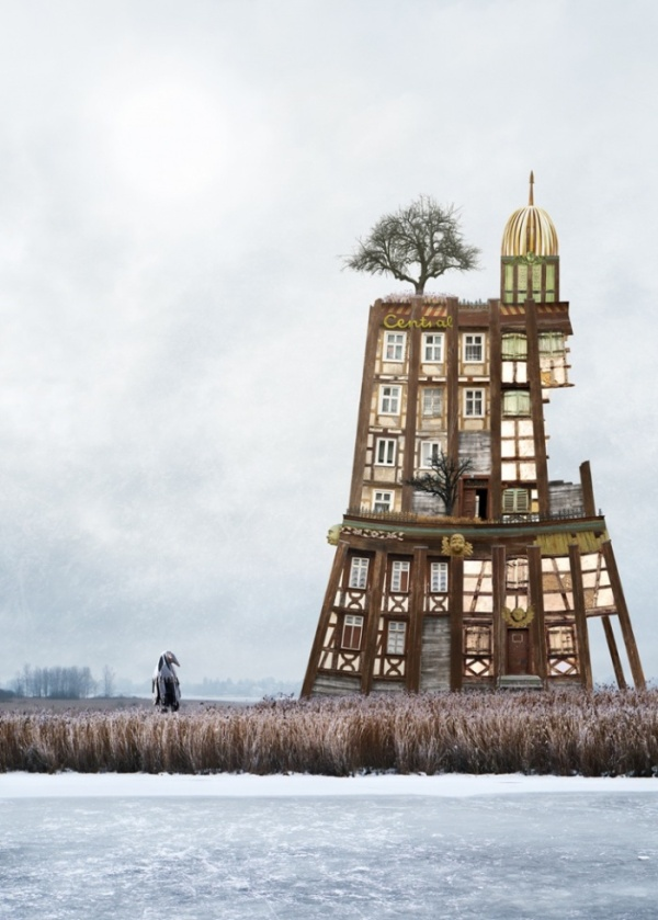 Surreal Houses by Matthias Jung