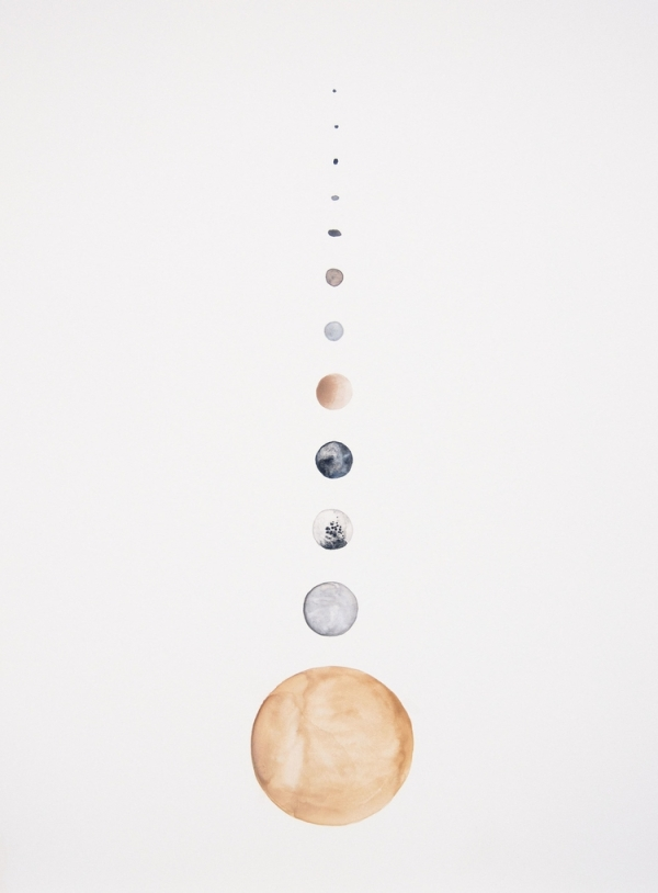 Moons of Saturn - Stella Maria Baer