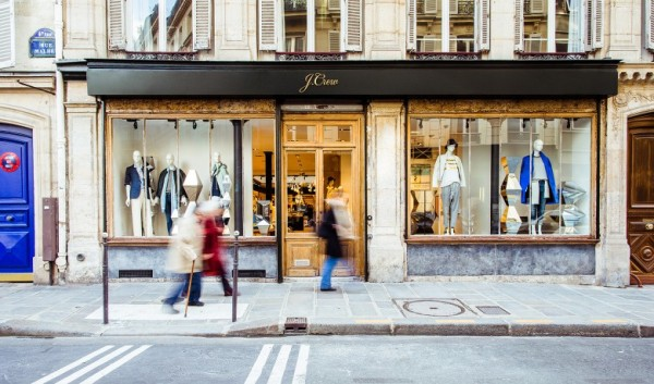 J.Crew à Paris