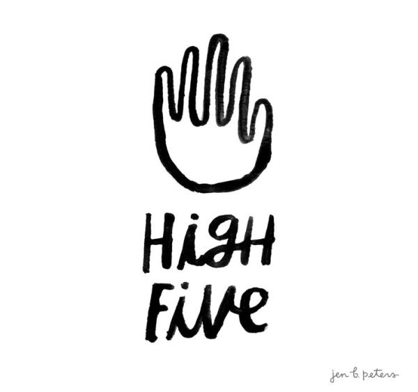 High Five by Jen B. Peters