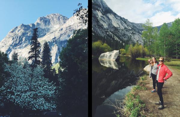 Mirror Lake Hikers
