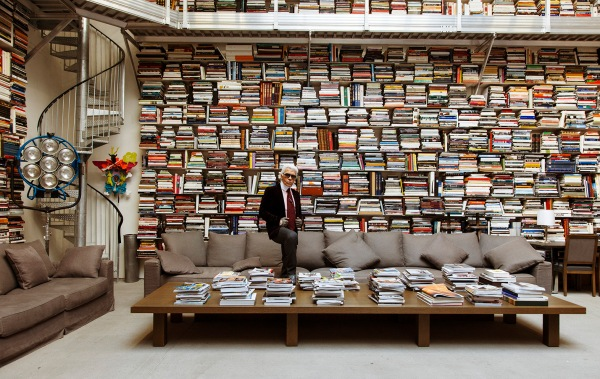 Karl Lagerfeld Library